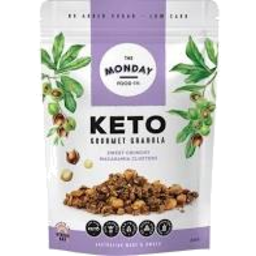Photo of The Monday Food Co - Granola - Keto Macadamia Clusters - 300g
