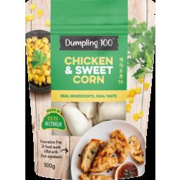 Photo of Dumpling 100 Chicken & Sweet Corn Dumplings 500g
