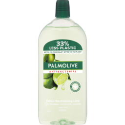 Photo of Palmolive Antibacterial Odour Neutralising Liquid Hand Wash Lime 500ml