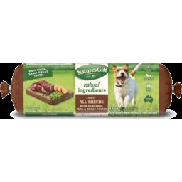 Photo of Nature's Gift Fresh Dog Roll With Kangaroo, Sweet Potato & Peas 1.4kg 4kg