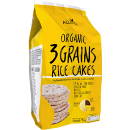 Photo of Allrite Organic 3 Grain Rice Cake 76g
