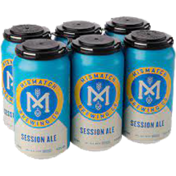 Photo of Mismatch Brewing Session Ale Cans
