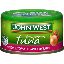 Photo of John West Tuna Onion Tomato 24's) 95g