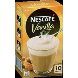 Photo of Nescafe Vanilla 10pk 185g