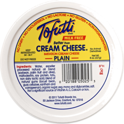 Photo of Tofutti Cream Cheese