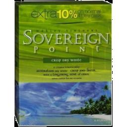 Photo of Sovereign Point Soft Fruit White 4.4lt