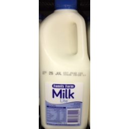Photo of Family Farm Milk Lite 2lt