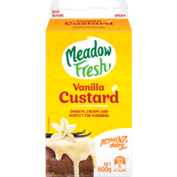 Photo of Meadow Fresh Custard Vanilla 600g