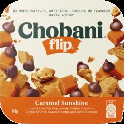 Photo of Chobani Flip Caramel Sunshine Greek Yogurt 140g