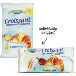 Photo of Eurobisc Bigusto Chocolate Croissant 252gm