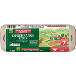 Photo of WW Eggs Free Range Size 12 Pack