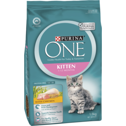 Photo of Purina One Kitten Food 1-12 Months With Chicken 1.5kg