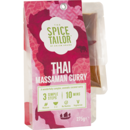 Photo of The Spice Tailor Thai Massaman Curry 275g