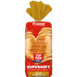 Photo of Bread Supersoft White Super Thick Toast Tip-Top 700g