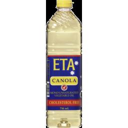 Photo of Eta Canola Mono Unsaturated Vegetable Oil 750ml