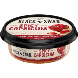 Photo of Black Swan Spicy Capsicum Dip 200g