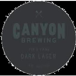 Photo of Canyon Brewing Dark Lager 330ml 6pk