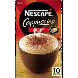 Photo of Nescafé Cappucino Decaf 10pk