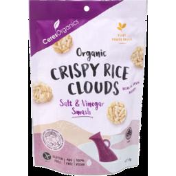 Photo of Ceres Organics Crispy Rice Clouds Salt & Vinegar Smash