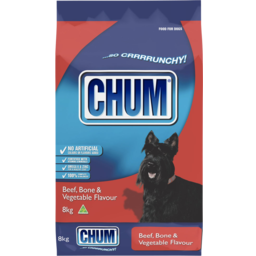 Photo of Chum Crunchy Beef Bone & Vegetable Flavour 8kg