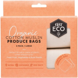 Photo of Ever Eco Produce Bags (Organic Cotton Muslin) 4 Pack