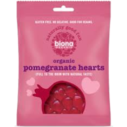 Photo of Pomegranate Hearts 75g