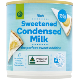Photo of WW Sweetened Condensed Milk 395g