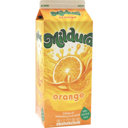 Photo of Mildura Sunrise Orange Fruit Drink 2l