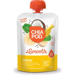 Photo of Chia Pod Smooth Banana Pouch 120g