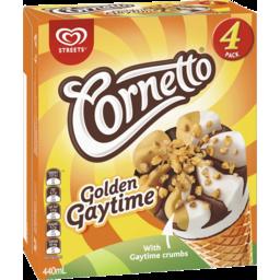 Photo of Golden Gaytime Cornetto 4pk