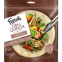 Photo of Farrahs Wraps Chia Quinoa 6 Pack