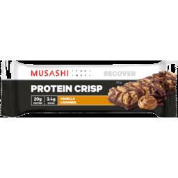 Photo of Musashi Musashi Vanilla Caramel Protein Crisp Bar 60g