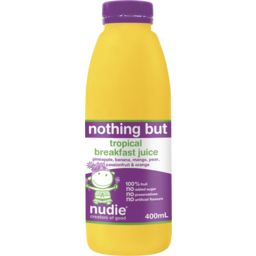 Photo of Nudie Nothing But Tropical Breakfast Juice 400ml