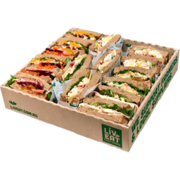 Photo of Classic Box  (16 halves/ 8 full size sandwiches)