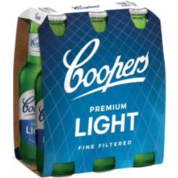 Photo of Coopers Premium Light Bottles