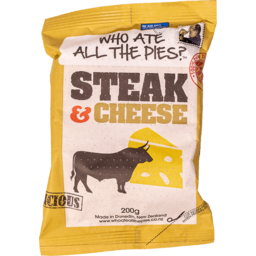Photo of  Who ate all the Pies Steak & Cheese Pie 200g
