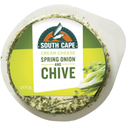 Photo of South Cape Spring Onion & Chive Cream Cheese 200g