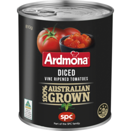 Photo of Ardmona Diced Vine Ripened Tomatoes 810g