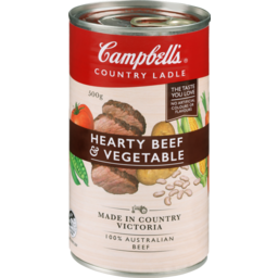 Photo of Campbell's Country Ladle Hearty Beef & Vegetable 505gm