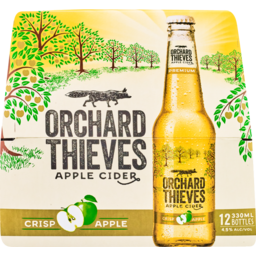 Photo of Orchard Thieves Apple Cider 12 x 330ml Bottles