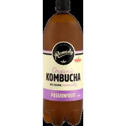 Photo of Remedy Kombucha Passionfruit 1.25lt