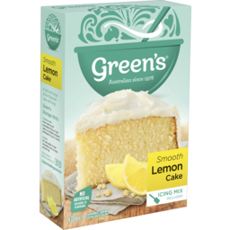 Photo of Greens Cake Mix Traditional Lemon 470gm