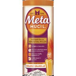 Photo of Metamucil Daily Fibre Supplement Orange Granular 48 Doses