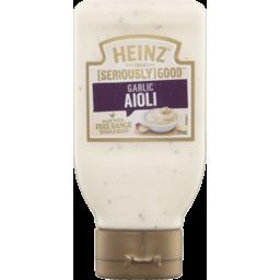 Photo of Heinz Seriously Good Aioli Garlic Mayonnaise 295ml