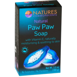 Photo of Natures Commonscents Paw Paw Soap Bar 100gm