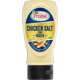 Photo of Praise Chicken Salt Chip Mayo Made With Fresh Free Range Eggs Squeeze 250ml