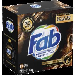 Photo of Fab Perfume Indulgence Gold Absolute, Powder Laundry Washing Detergent, 1.8kg