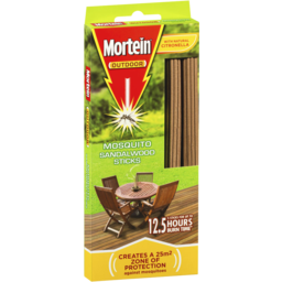 Photo of Mortein Outdoor Sandalwood Mosquito Repellent Sticks 5 Pack