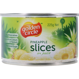 Photo of Golden Circle Pineapple In Natural Fruit Juice Sliced 225g
