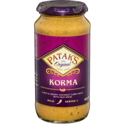 Photo of Patak's Korma Sauce 450gm